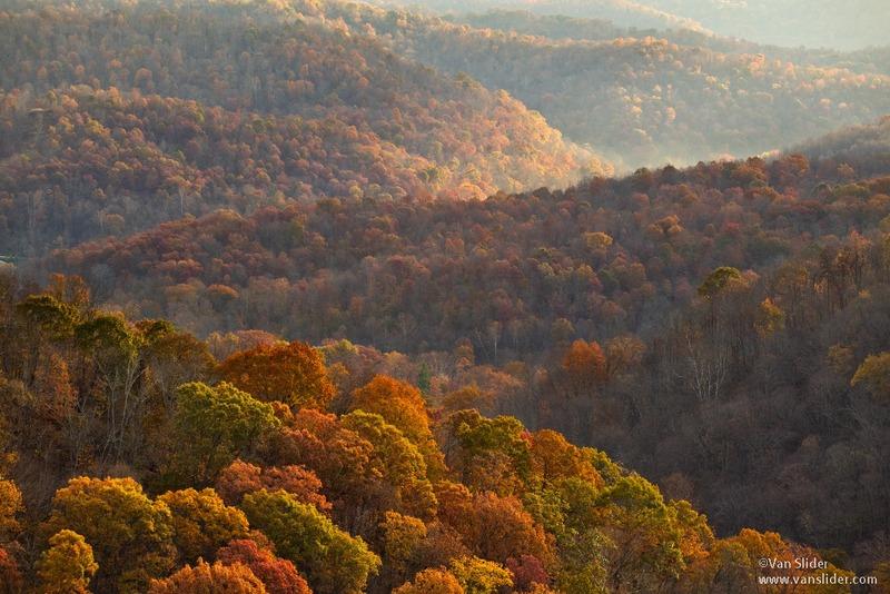 Late autumn in Wetzel County, West Virginia
