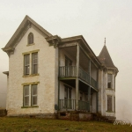 A farmhouse at Pruntytown was once part of the infamous boys' reformatory complex.