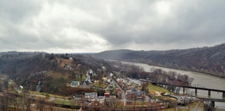 Historic Harpers Ferry teeters on the edge of spring. (Photo: National Park Service)