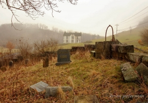 The Gawthrop Cemetery on the state game farm is falling into ruin.