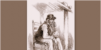In the 1850s, illustrator Porte Crayon (David Hunter Strother) captured Henry Church