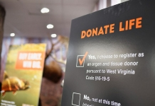 West Virginia has become one of the first states to offer an organ donor option on hunting and fishing license applications.