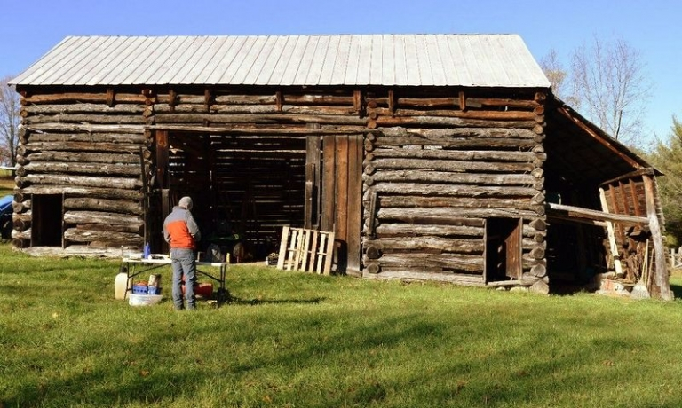 WVU researchers use historic log structures to map migration