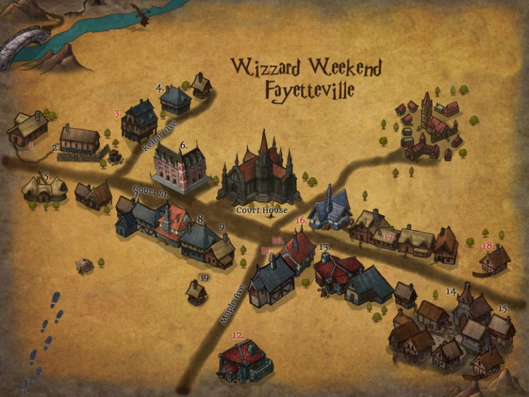 Wizard Weekend in Fayetteville brews up magical family fun