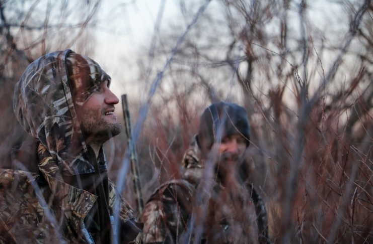 Young hunters in West Virginia learn early, says a Canadian writer.
