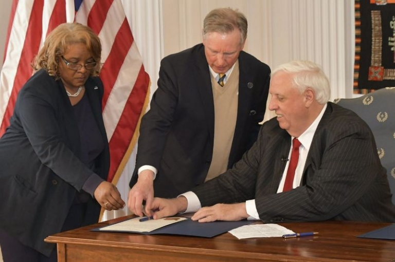 After 125 years, Justice signs bill founding Bluefield State