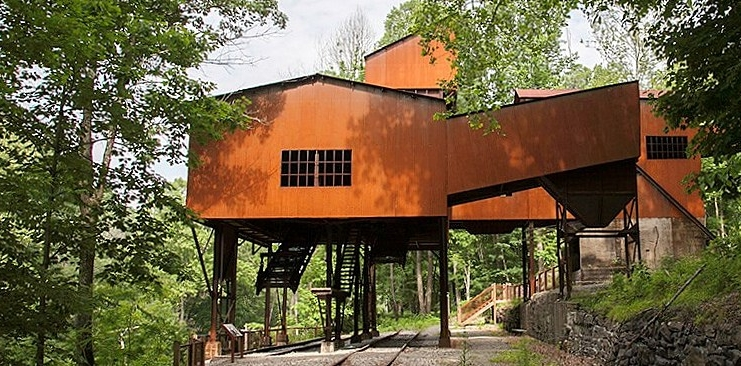 The Nuttalburg tipple greets visitors to a remote corner of the New River Gorge National River.