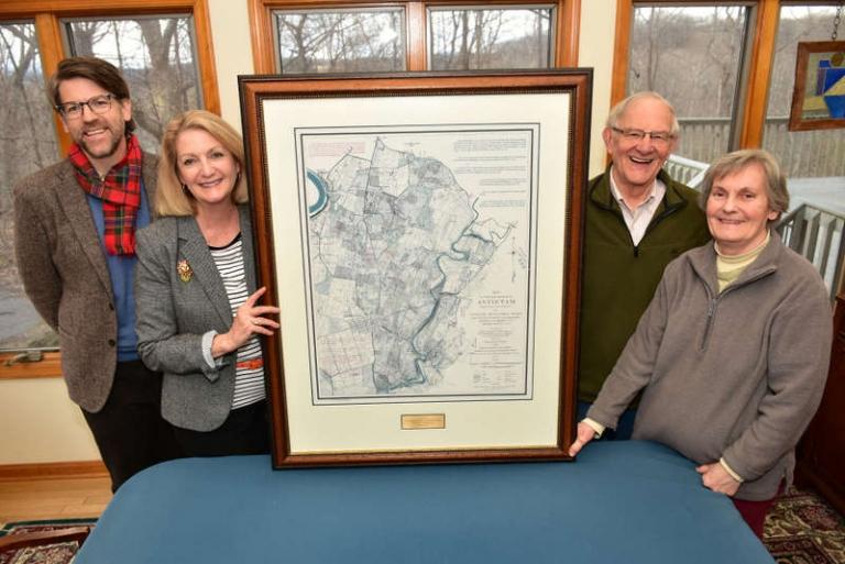 Historic Antietam maps donated to Shepherd Civil War center
