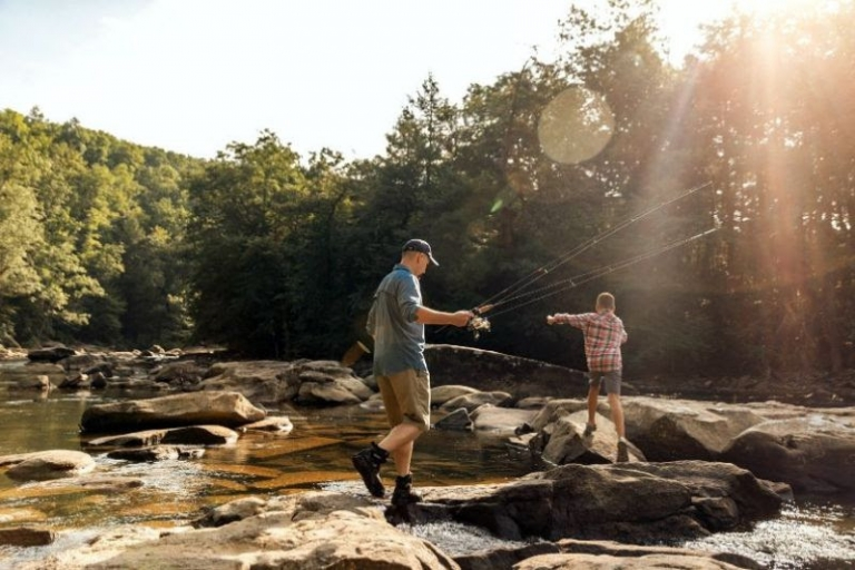 Weekend trout stockings return to state parks this spring