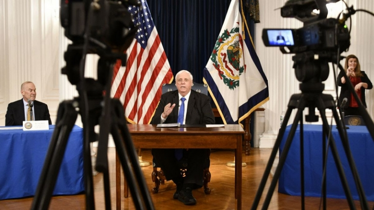 West Virginia Governor issues stay-at-home order