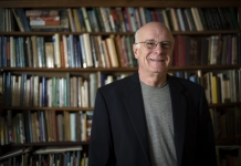 Marc Harshman, poet laureate of West Virginia