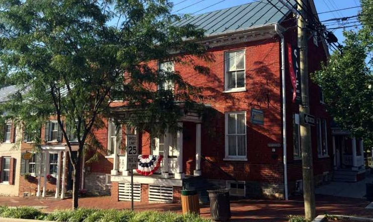The George Tyler Moore Center for Civil War History occupies one of many historic structures in Shepherdstown, West Virginia.
