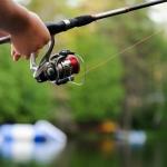 Lake fishing in West Virginia