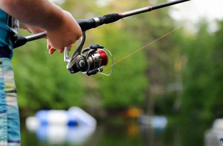 Far from urban areas, lakes in West Virginia apparently boast more than their share of big fish.