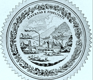 Reverse of West Virginia State Seal