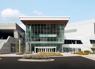 The ZMM design for the Charleston Convention Center has helped transform the Elk River front in Charleston, West Virginia.