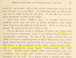 Excerpt from McWhorter (1915), Border Settlements of Northwestern Virginia