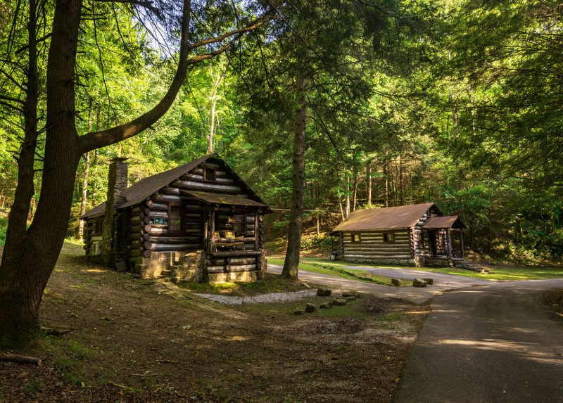 Cabins in state-managed parks in West Virginia are welcoming record in-state visitors. (Photo: W.Va. Dept. of Commerce)
