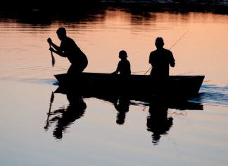 Fishing is a way of life in West Virginia where the National Park Service is holding a grandfamily fishing program.