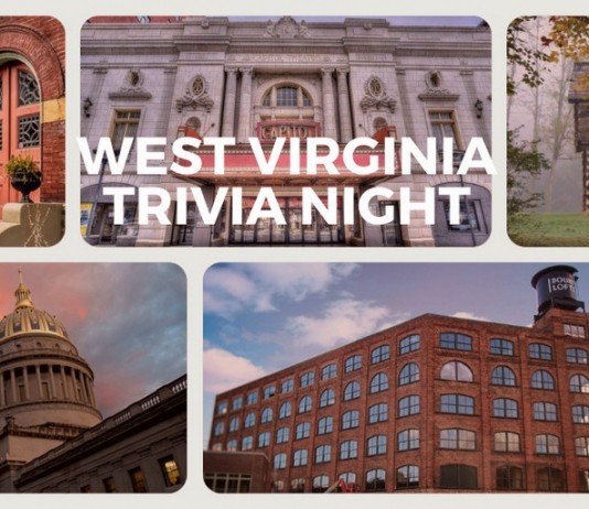 The first annual West Virginia History Trivia Night for the Preservation Alliance will be Tuesday, December 1, 2020.