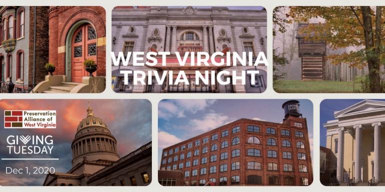 Play W.Va. History Trivia, and help save historic properties