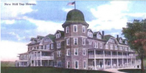 The Hill Top House as it appeared in an early 20th century postcard.