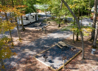 RV and tent campgrounds are expanding at Adventures on the Gorge.