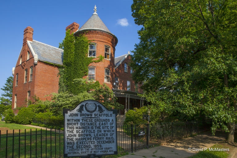 Home at site of abolitionist John Brown's hanging for sale