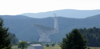 The Green Bank Telescope in Pocahontas County will be employed in the international effort.
