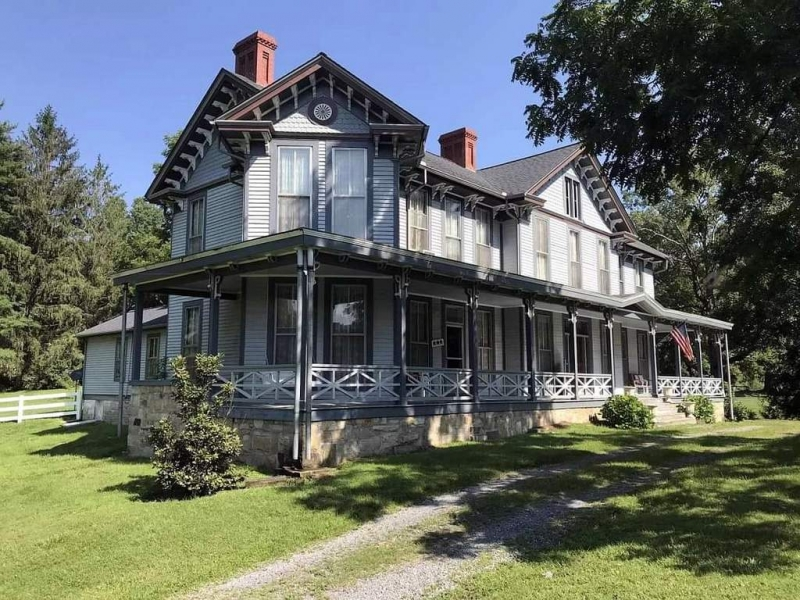 The Page Vawter House is among the most elaborate examples of Italianate architecture in southern West Virginia.